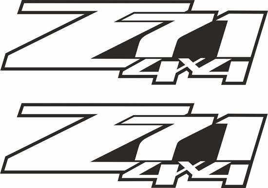 Picture of Chevy Silverado  Z71 Decals / Stickers