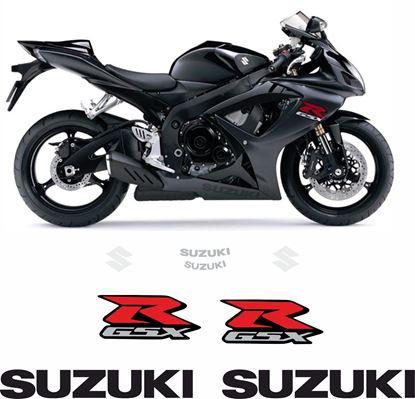 Picture of Suzuki GSX-R 600 K6 2007 replacement Decals / Stickers