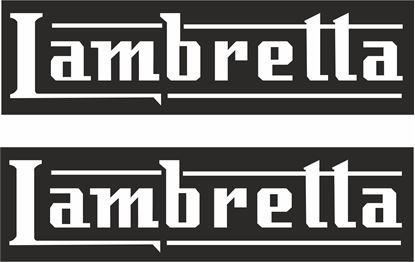 Picture of Lambretta General Panel Stickers