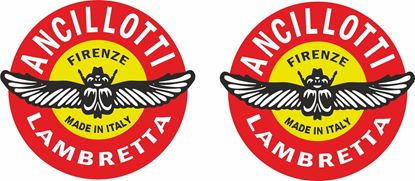"Picture of Lambretta ""Ancillotti"" Decals / Stickers"