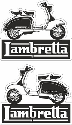 Picture of Lambretta  Decals / Stickers