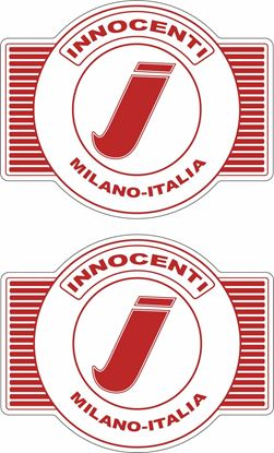 "Picture of Lambretta ""Innocenti Miliano-Italia"" Decals / Stickers"