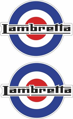 Picture of Lambretta Mod Decals / Stickers