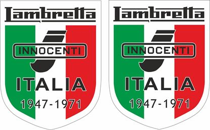 "Picture of Lambretta ""Innocenti Italia..."" Decals / Stickers"