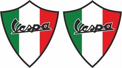 Picture of Vespa Italia Decals / Stickers