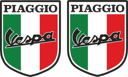 Picture of Vespa Piaggio Italia Decals / Stickers