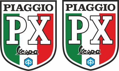 Picture of Vespa Piaggio PX Italia Decals / Stickers