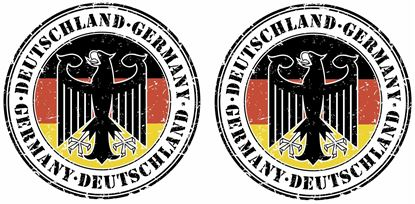 Picture of Deutschland Germany panel  Decals / Stickers