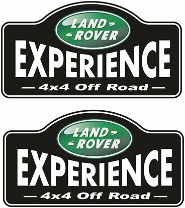 "Picture of ""Land Rover 4x4 Off Road""  Decals / Stickers"