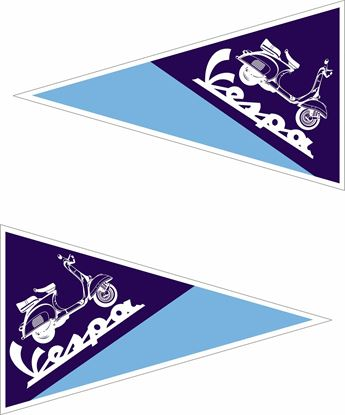 Picture of Vespa Decals / Stickers