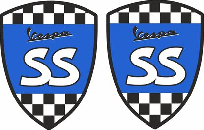 Picture of Vespa SS Decals / Stickers
