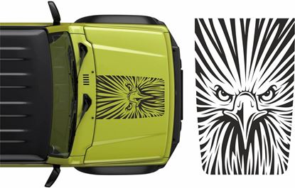 Picture of Jimny Eagle  Bonnet Decal / Sticker