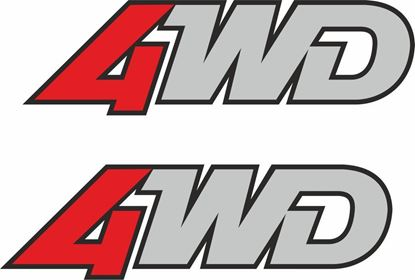 Picture of Mazda 323 GTX 4WD 1988 - 1989 replacement rear Badge Decals / Stickers