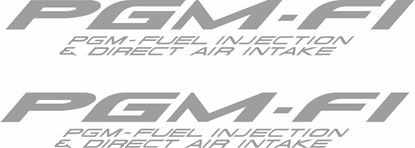 Picture of PGM-FI  replacement Tail Decals / Stickers