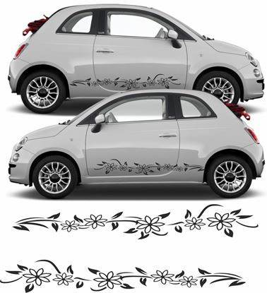 """Picture of """"Floral"""" Decals / Stickers"""