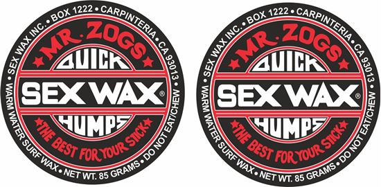 Picture of MR Zogs Sex Wax  panel  Decals / Stickers
