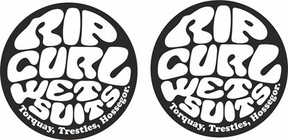 "Picture of ""Rip Curl...""  panel  Decals / Stickers"