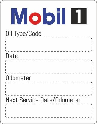 "Picture of ""Mobile"" Service / Maintenance Stickers"
