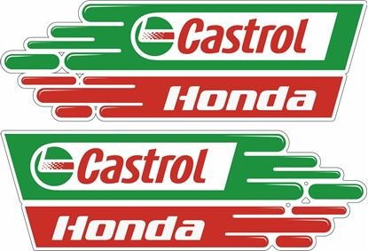 Picture of Honda CBR Castrol Decals / Stickers