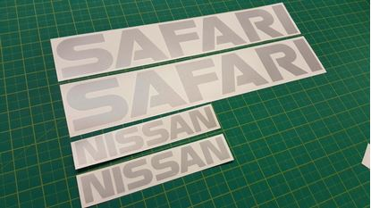 Picture of Nissan  Patrol / Safari   Decals / Stickers