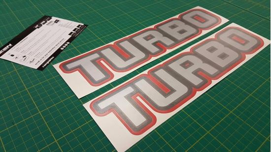 Picture of Nissan Patrol / Safari / Ebro Turbo Replacement Decals / Stickers