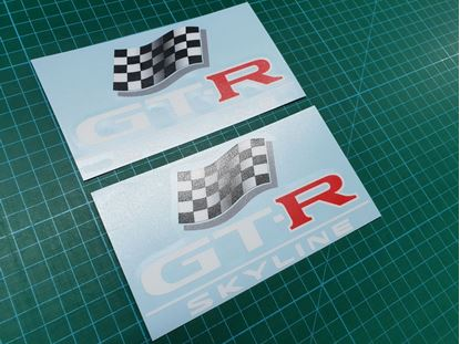 Picture of Nissan Skyline R33 LM  Decals / Stickers