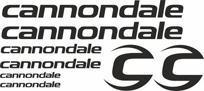 Picture of Cannondale Frame Sticker kit