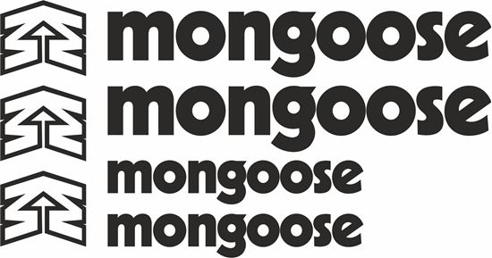 Picture of Mongoose Frame Sticker kit