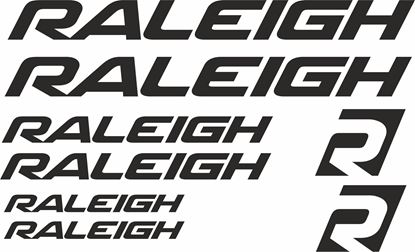 Picture of Raleigh Frame Sticker kit