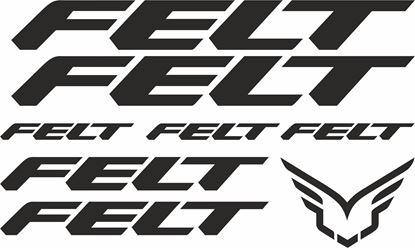 Picture of Felt Frame Sticker kit
