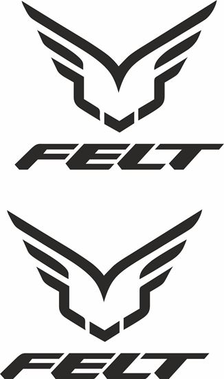 Picture of Felt Decals / Stickers