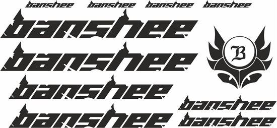 Picture of Banshee Frame Sticker kit