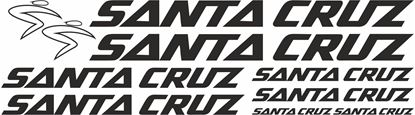 Picture of Santa Cruz Frame Sticker kit