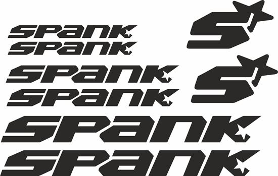 Picture of Spank Frame Sticker kit