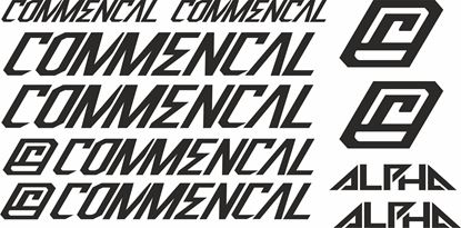 Picture of Commencal Frame Sticker kit
