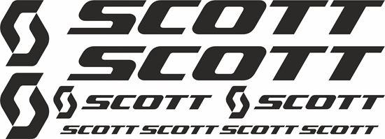 Picture of Scott Frame Sticker kit