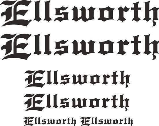Picture of Ellsworth Frame Sticker kit