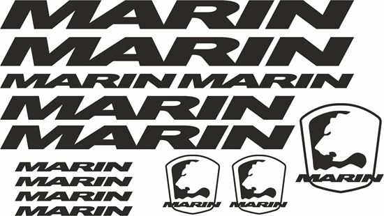 Picture of Marin Frame Sticker kit