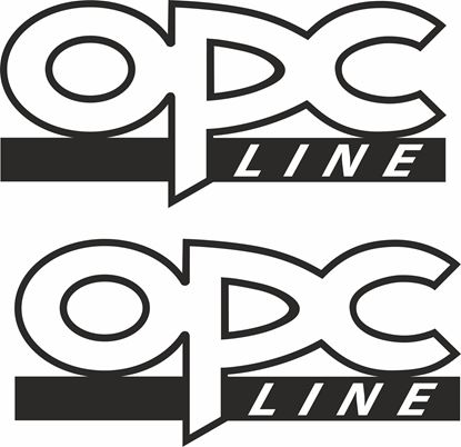 "Picture of Opel  ""OPC Line"" Decals / Stickers"
