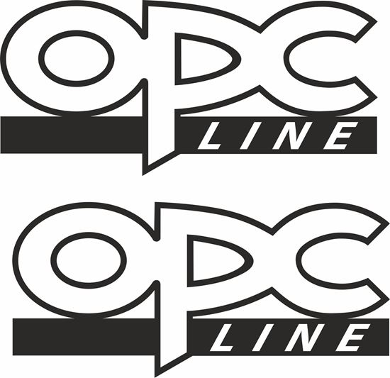 """Picture of Opel  """"OPC Line"""" Decals / Stickers"""