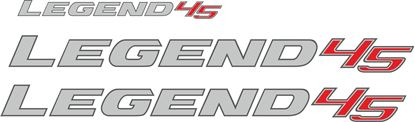 "Picture of Toyota Hilux ""Legend 45"" replacement side & rear / Decals /  Stickers"