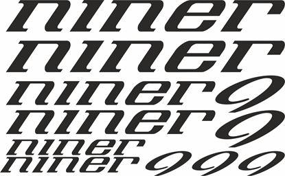 Picture of Niner Frame Sticker kit