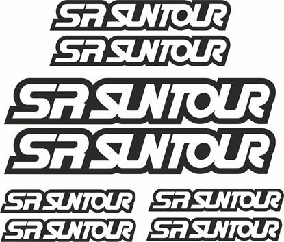 Picture of SR Suntour Frame Sticker kit