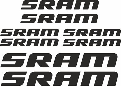 Picture of Sram Frame Sticker kit