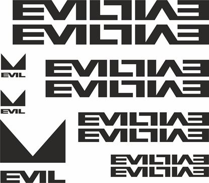 Picture of Evil Frame Sticker kit