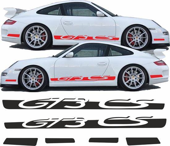Picture of Porsche 911 / 997 GT3 CS side Stripes / Stickers