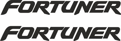 Picture of Toyota Fortuner Decals / Stickers