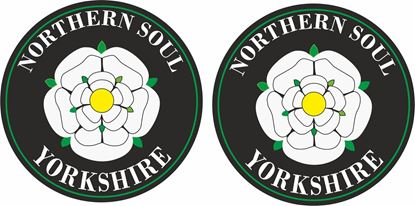 Picture of Northern Soul Yorkshire general Panel Decal / Stickers