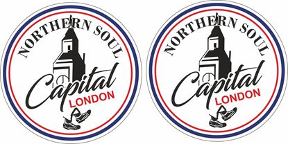 Picture of Northern Soul Capital London general Panel Decal / Stickers