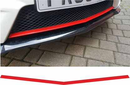 Picture of Mercedes A45 front Grille Lip overlay Vinyl Sticker